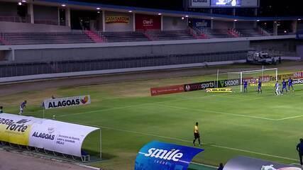 Rodrigo Pimpão desvia e Cleberson completa para o gol