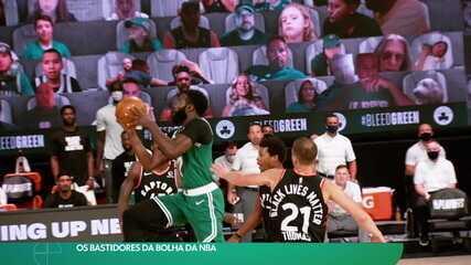 Os bastidores da bolha da NBA
