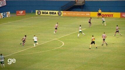 Veja os melhores momentos de Manaus 0 x 0 Santa Cruz
