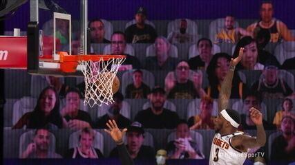Confira importantes lances de LeBron James na vitória do Los Angeles Lakers sobre o Denver Nuggets