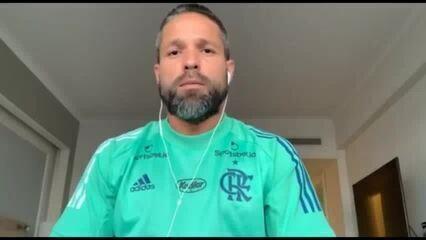 "Diego, do Flamengo, relata dores após dar positivo para Covid: ""De garganta, no corpo..."""