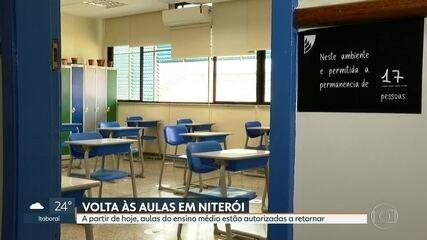 Volta às aulas em Niterói