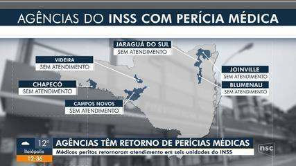 Agências do INSS tem retorno de perícias médicas