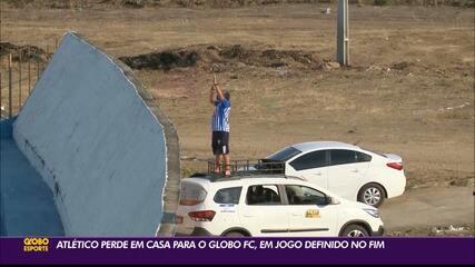 Relembre: torcedor do Atlético-PB improvisa para assistir o primeiro jogo do Trovão Azul na Série D