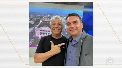 Flávio Bolsonaro não comparece à acareação com o empresário Paulo Marinho