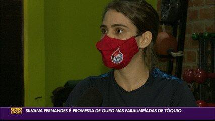 Silvana Fernandes é promessa de ouro nas Paralimpíadas de Tóquio