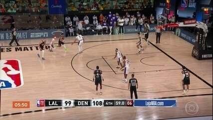 Denver Nuggets vence e diminue vantagem do Los Angeles Lakers para 2 a 1