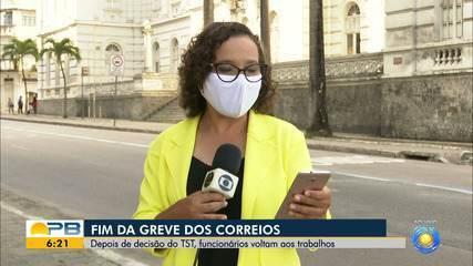 Greve dos Correios chega ao fim após assembleia do Sindicato da categoria, na Paraíba