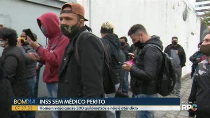 Peritos não aparecem para trabalhar em agência de Curitiba
