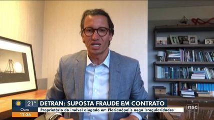 Proprietário do imóvel alugado pelo Detran na capital nega irregularidades