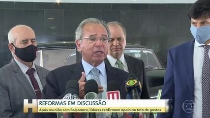 Guedes defende 'tributos alternativos' e diz que o país 'tem que desonerar a folha'
