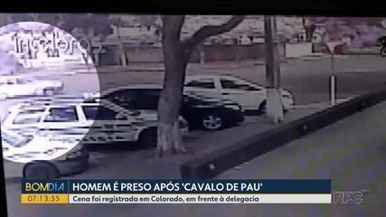 Homem é preso por embriaguez ao volante depois de fazer manobras