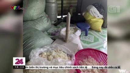 Operação policial descobre fábrica que reutiliza preservativos usados no Vietnã
