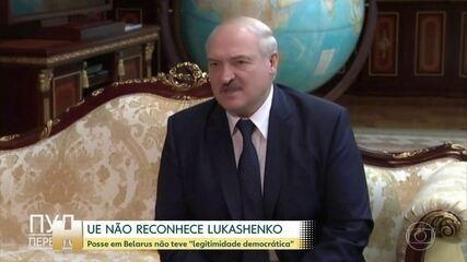 União Europeia não reconhece Lukashenko como presidente de Belarus