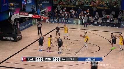 Melhores momentos: Denver Nuggets 108 x 114 Los Angeles Lakers, pela NBA