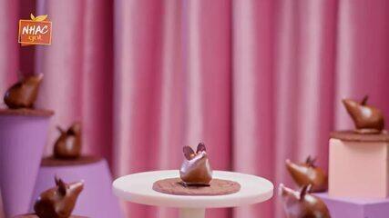 Trufa de Chocolate ao leite com cereja