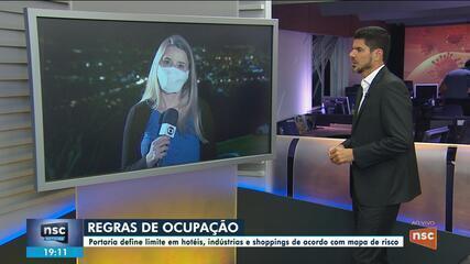 SC tem nova portaria que altera regras para hotéis, shoppings e mercados durante pandemia