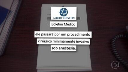 Bolsonaro se recupera bem de cirurgia para retirada de uma pedra na bexiga