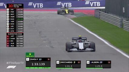 Ricciardo faz 1m32s218 no treino do GP da Rússia
