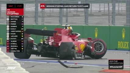 Vettel bate no treino do GP da Rússia