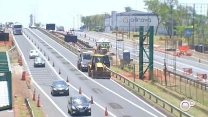 Obras provocam interdições na Rodovia Marechal Rondon em Bauru