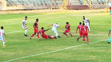 Lucas Bahia marcou um dos gols do River-PI no empate em 2 a 2 com o Baré pela 2ª rodada da Série D