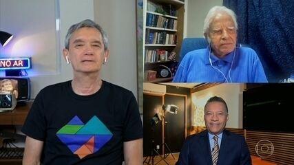 Cid Moreira e Heraldo Pereira revelam curiosidades sobre o JN