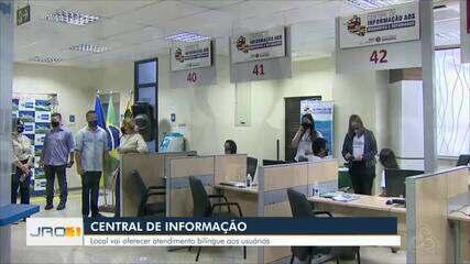 Central de informação aos imigrantes e refugiados