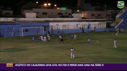 Atlético-PB é derrotado pelo Salgueiro, no Sertão pernambucano