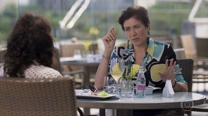Silvana decide assumir a obra do escritório de Eugênio
