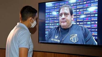"""Ao lado de """"Gutinho"""", Guto Ferreira celebra bom momento no Ceará"""