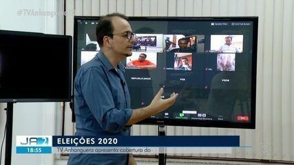 TV Anhanguera fará cobertura do dia a dia dos candidatos; confira como será