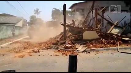 'Casa da Dona Negrinha', imóvel histórico no DF, é demolido em Planaltina