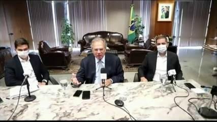 Ministro da Economia busca novas fontes de recursos para o Renda Cidadã