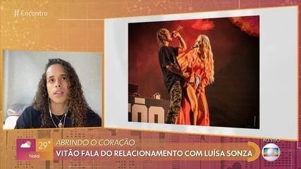 Vitão fala sobre pressão no relacionamento com Luísa Sonza