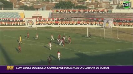 Confira como foi o primeiro duelo entre Campinense e Guarany de Sobral na Série D