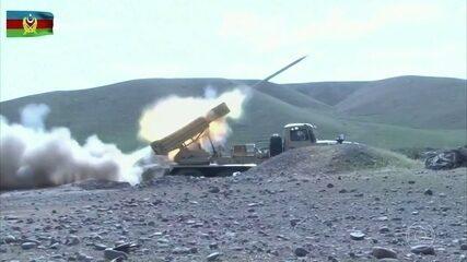 Conflito entre Armênia e Azerbaijão se intensifica