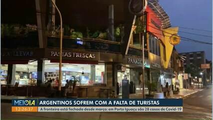Argentinos sofrem com a falta de turistas