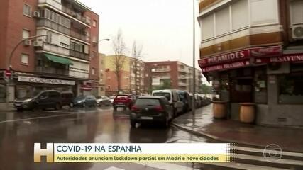 Madri e 9 cidades vizinhas entram hoje em lockdown