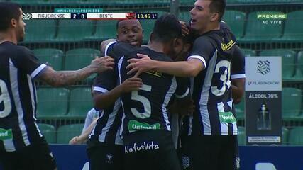 Confira os melhores momentos de Figueirense 4 x 1 Oeste pela 13ª rodada da Série B