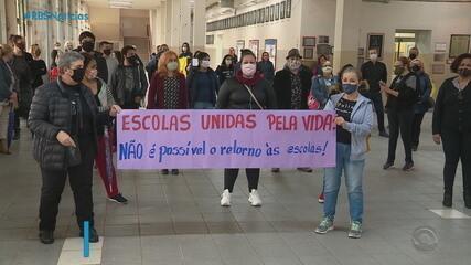 Prefeitura de Porto Alegre apresenta protocolo para o retorno das aulas presenciais