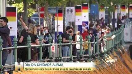 Alemanha comemora os 30 anos da reunificação do país