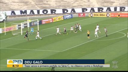 Treze 2 x 0 Botafogo-PB, pela rodada #9 da Série C
