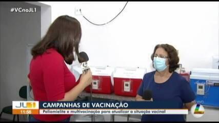 Campanhas nacionais de vacinação contra paralisia infantil e multivacinação começam no PA