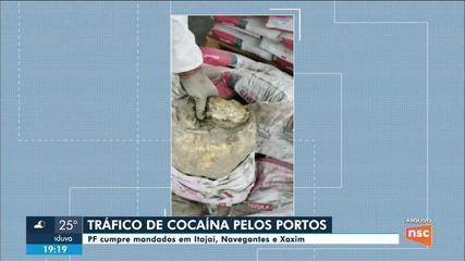 Três empresários de SC são presos suspeitos de tráfico internacional de drogas