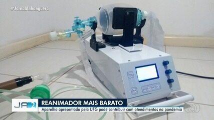 UFG apresenta reanimador que pode contribuir com atendimentos na pandemia