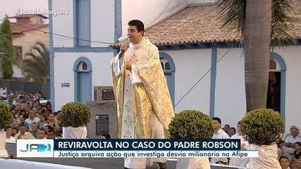 Justiça tranca ação que investiga padre Robson por suspeita de desvio de dinheiro na Afipe