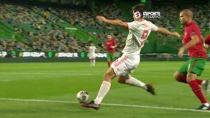 Melhores momentos do amistoso Portugal 0 x 0 Espanha