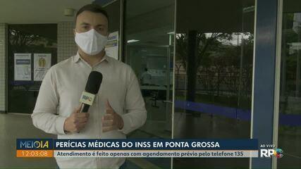 INSS retoma realização de perícias em Ponta Grossa