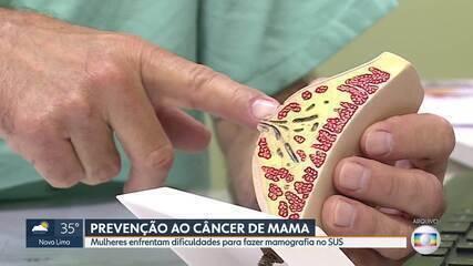 Campanha Outubro Rosa lembra a importância da prevenção ao câncer de mama